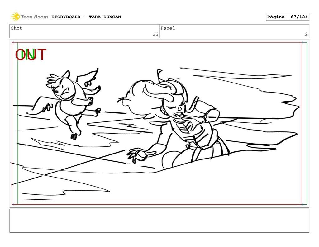 Shot 25 Panel 2 STORYBOARD - TARA DUNCAN Página...