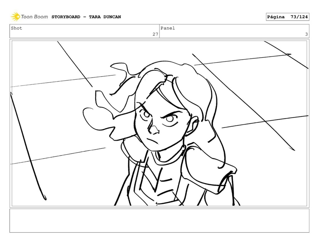 Shot 27 Panel 3 STORYBOARD - TARA DUNCAN Página...