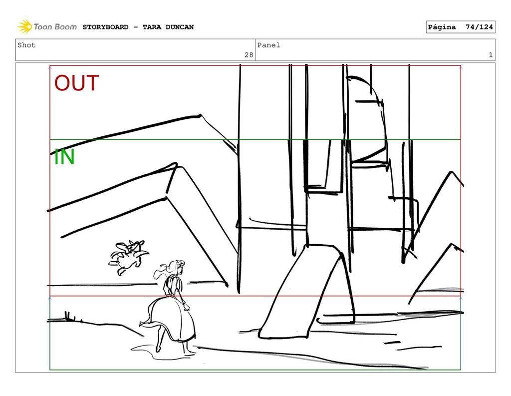 Shot 28 Panel 1 STORYBOARD - TARA DUNCAN Página...