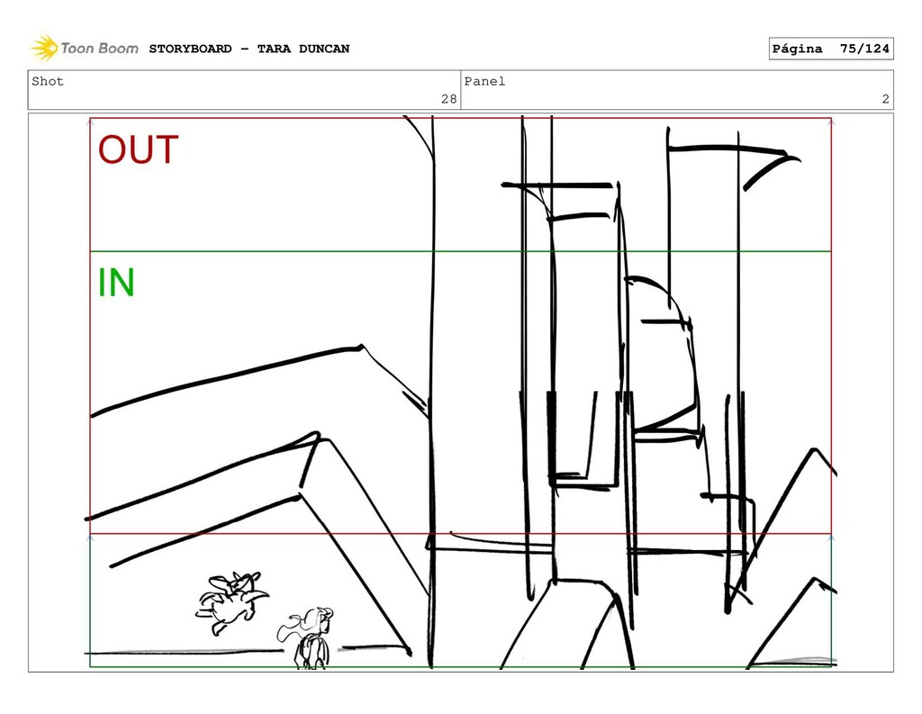 Shot 28 Panel 2 STORYBOARD - TARA DUNCAN Página...