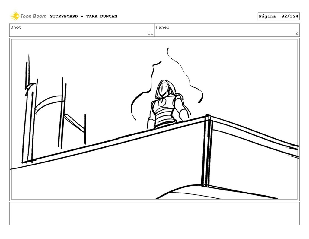 Shot 31 Panel 2 STORYBOARD - TARA DUNCAN Página...