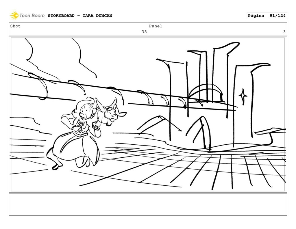 Shot 35 Panel 3 STORYBOARD - TARA DUNCAN Página...