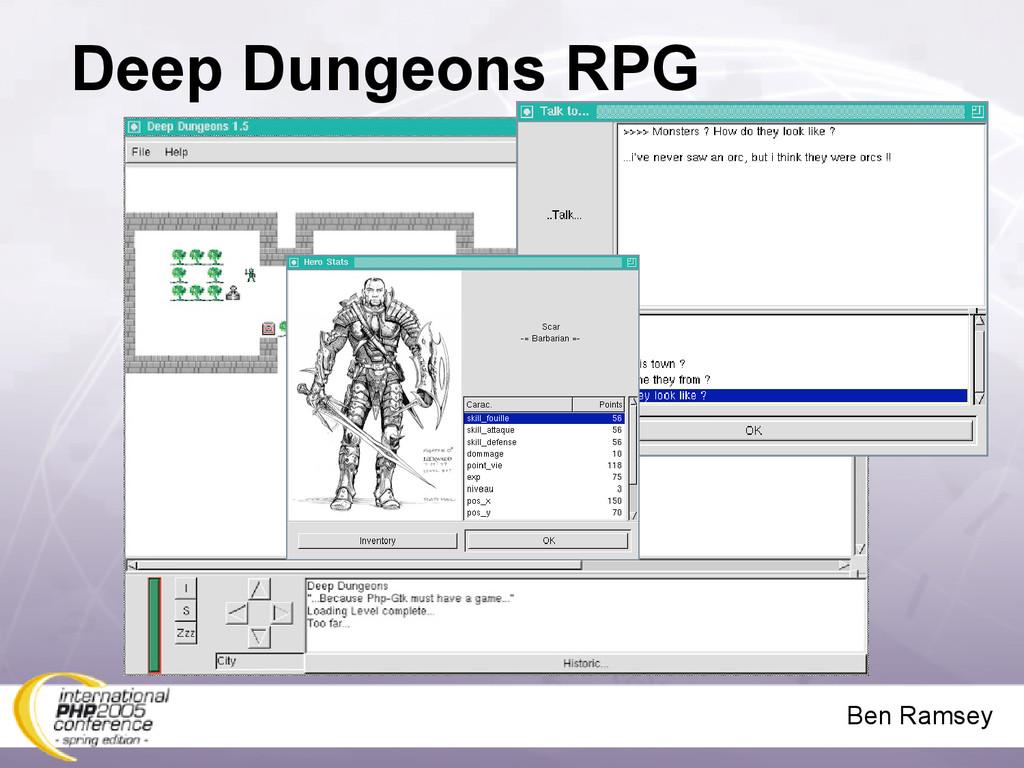 Ben Ramsey Deep Dungeons RPG