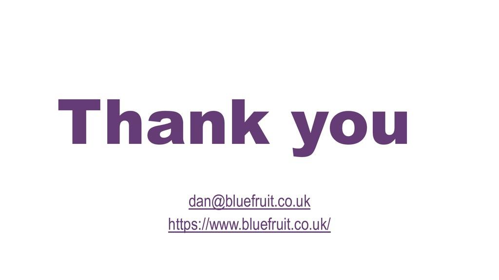 Thank you dan@bluefruit.co.uk https://www.bluef...