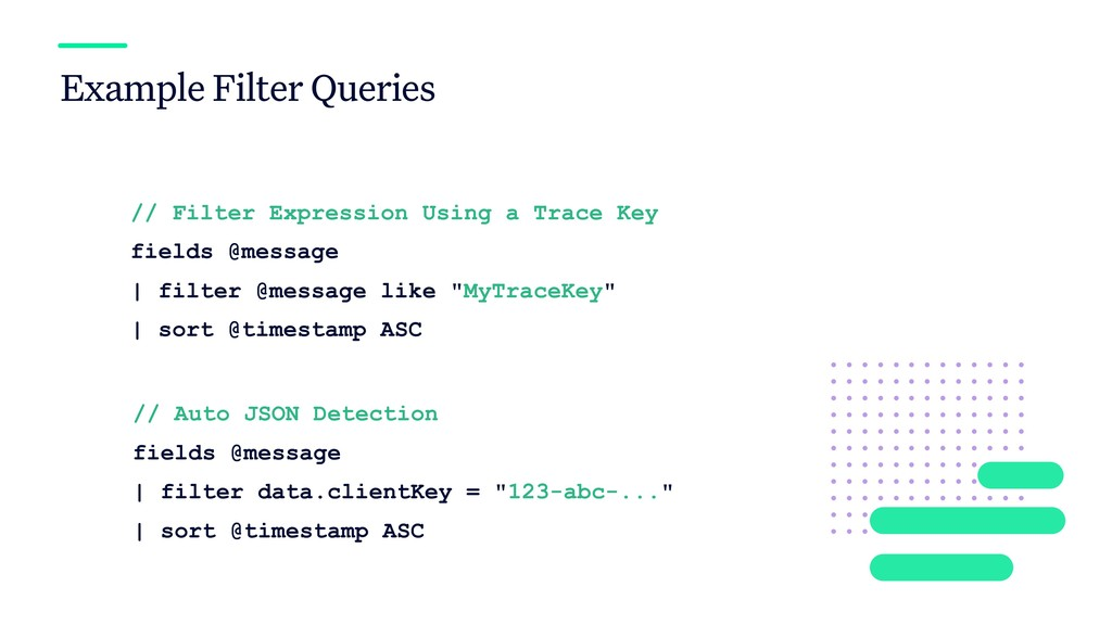 Example Filter Queries // Filter Expression Usi...
