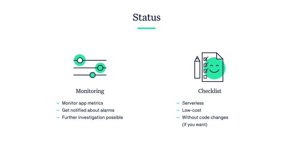 Monitoring - Monitor app metrics - Get notified...