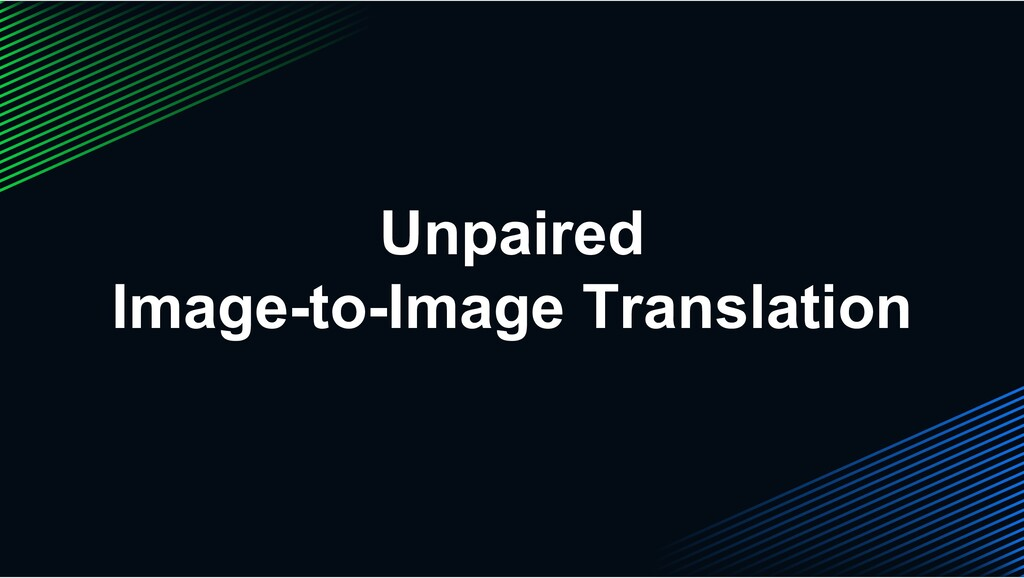 Unpaired Image-to-Image Translation