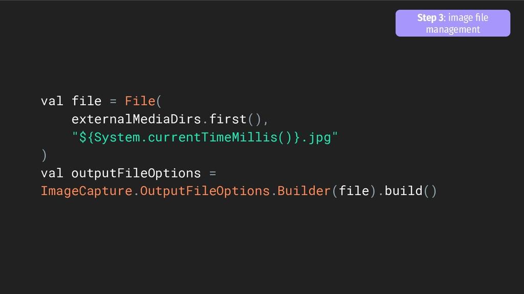 "val file = File( externalMediaDirs.first(), ""${..."