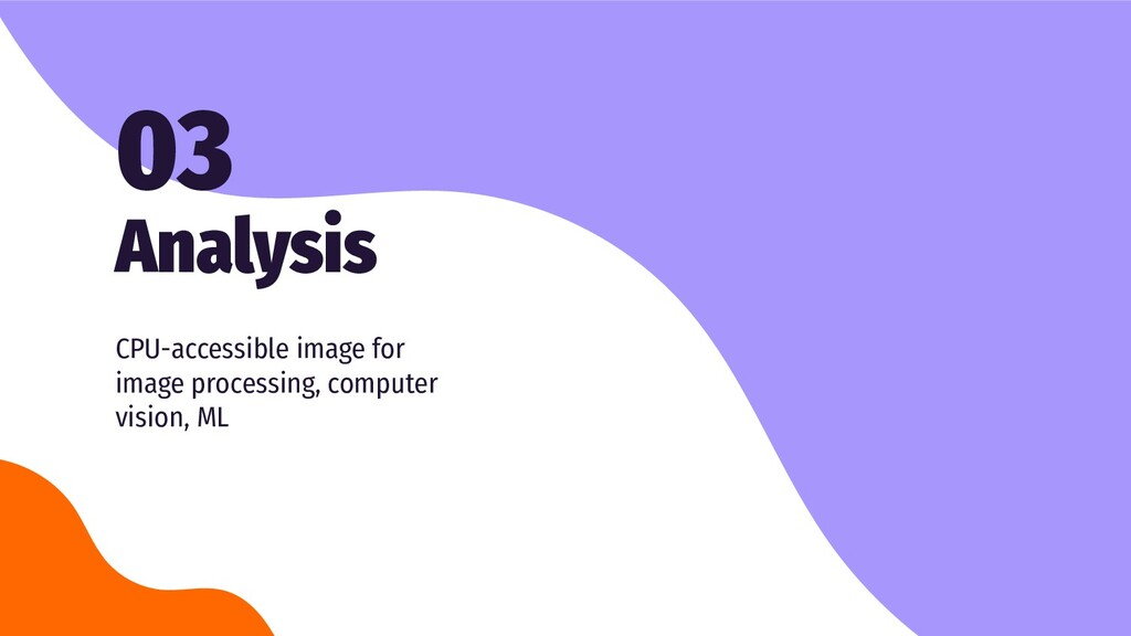 Analysis 03 CPU-accessible image for image proc...