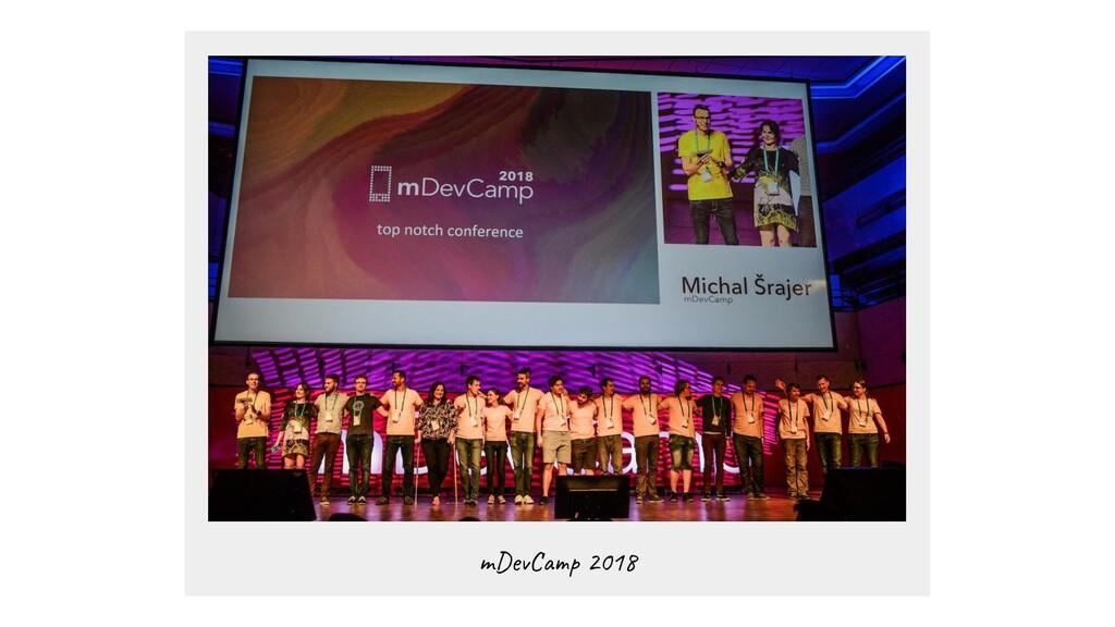 mDevCamp 2018