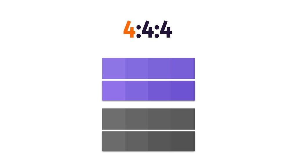 4:4:4
