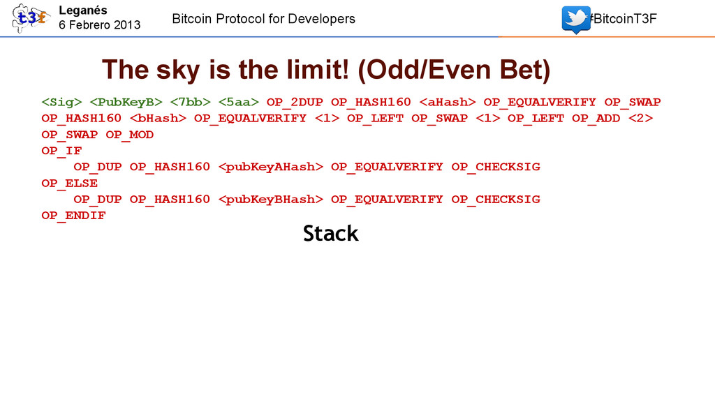 Bitcoin Protocol for Developers #BitcoinT3F Leg...