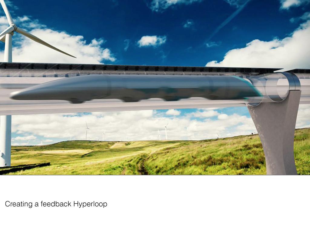 Creating a feedback Hyperloop