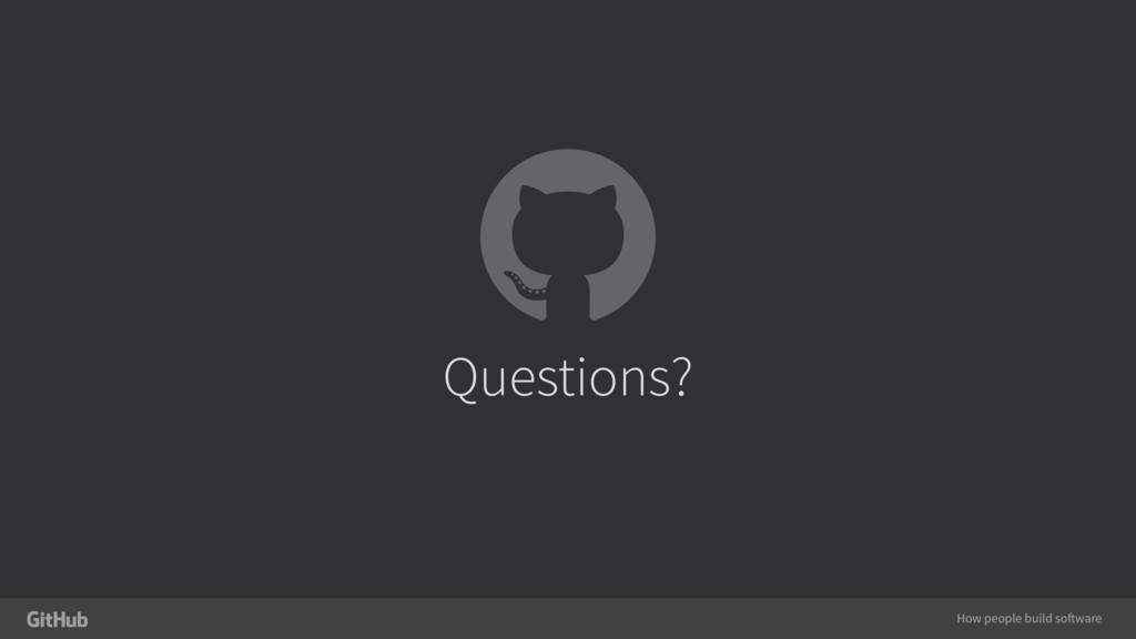 How people build software Questions?