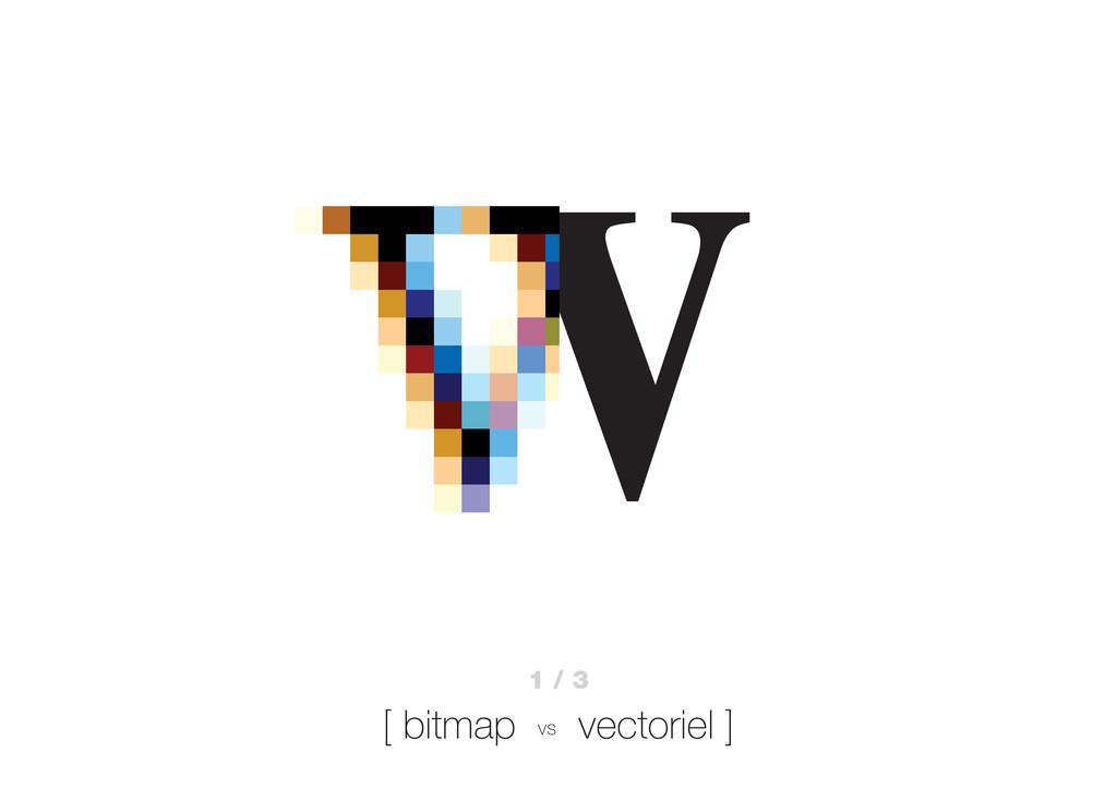 W 1 / 3 [ bitmap vs vectoriel ]