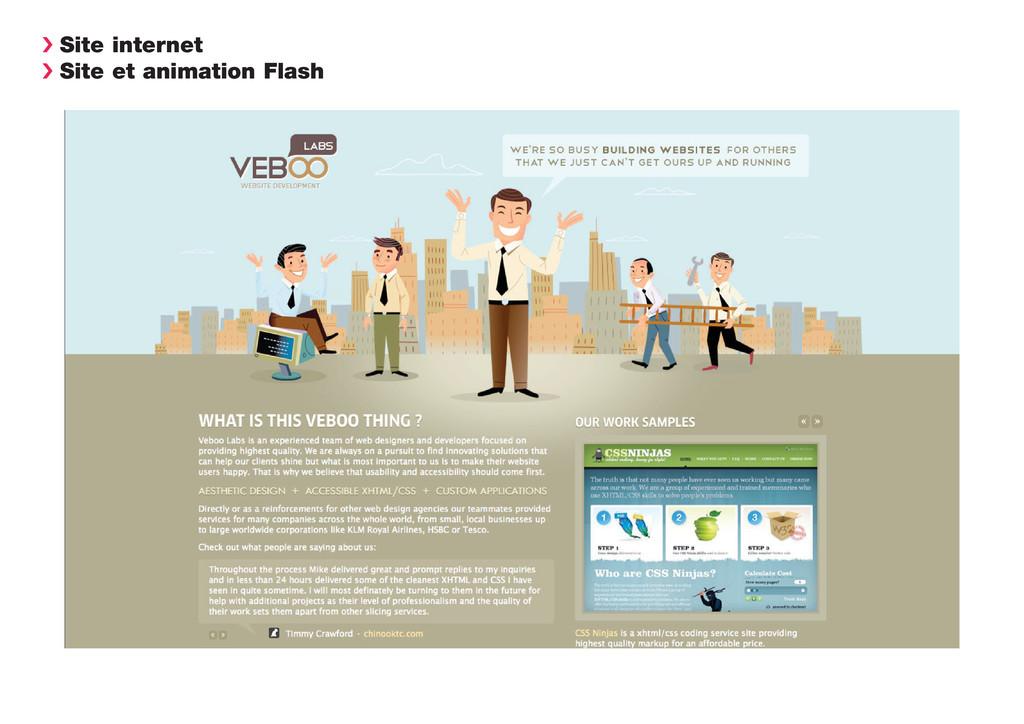 › Site internet › Site et animation Flash