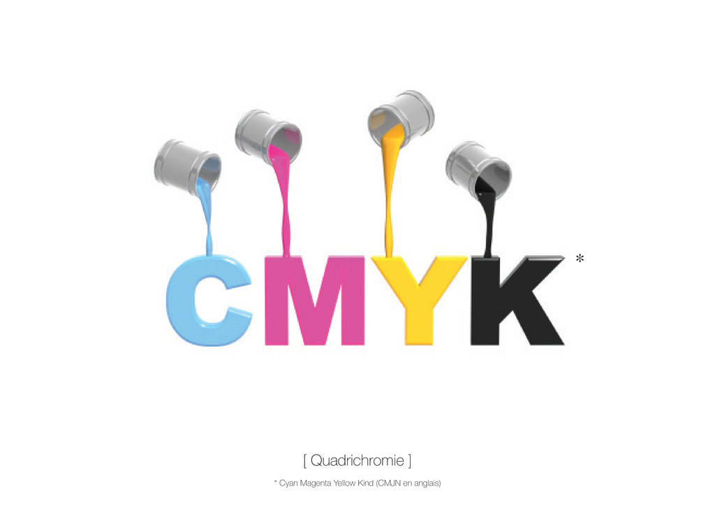 [ Quadrichromie ] * Cyan Magenta Yellow Kind (C...