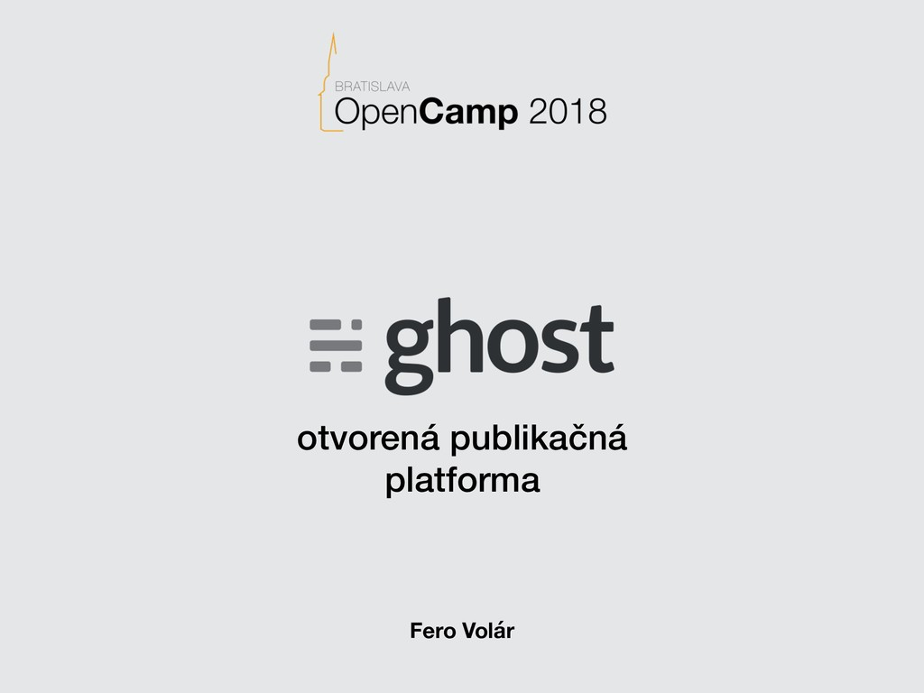otvorená publikačná platforma Fero Volár
