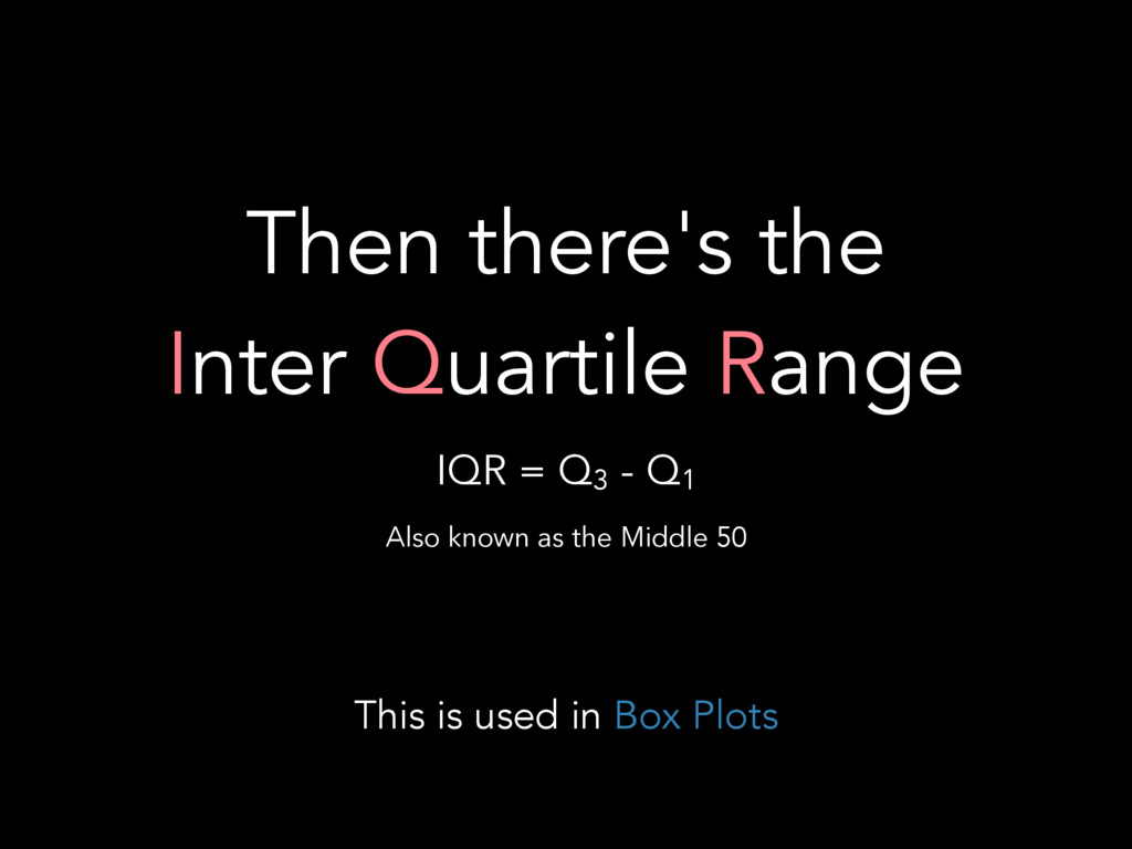 Then there's the
