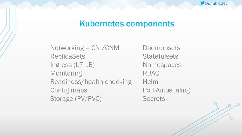 @shahiddev Kubernetes components Networking – C...