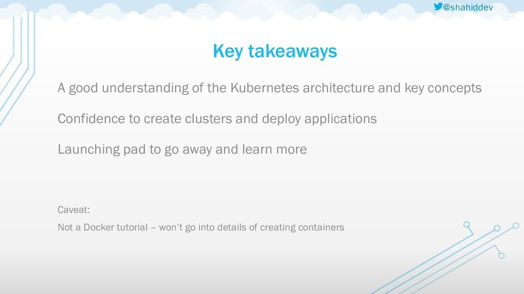 @shahiddev Key takeaways A good understanding o...