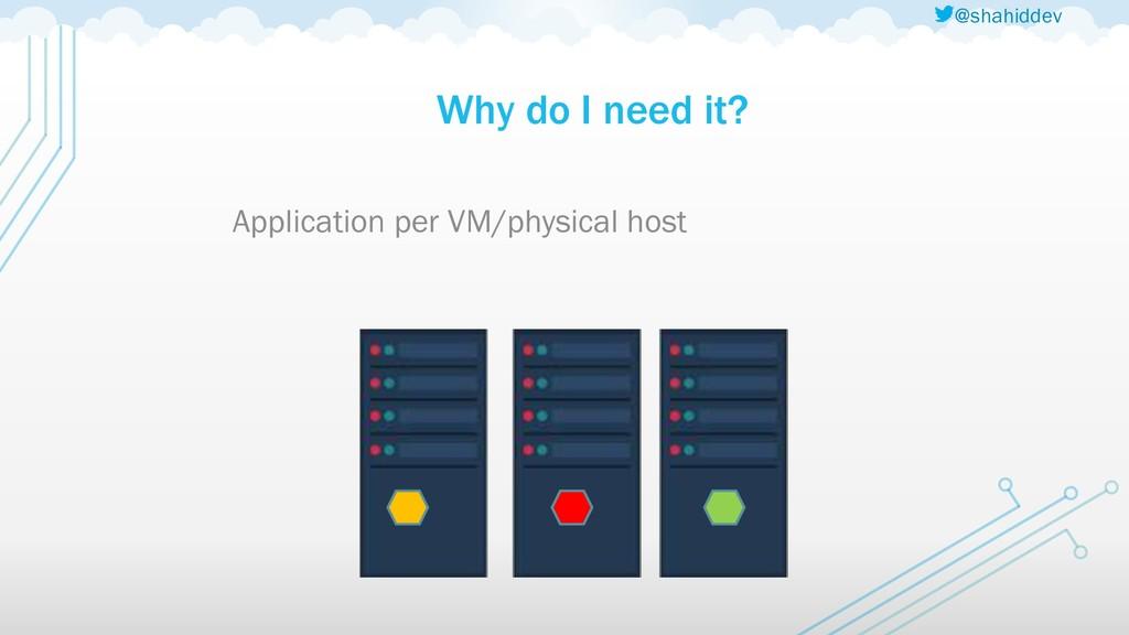 @shahiddev Why do I need it? Application per VM...