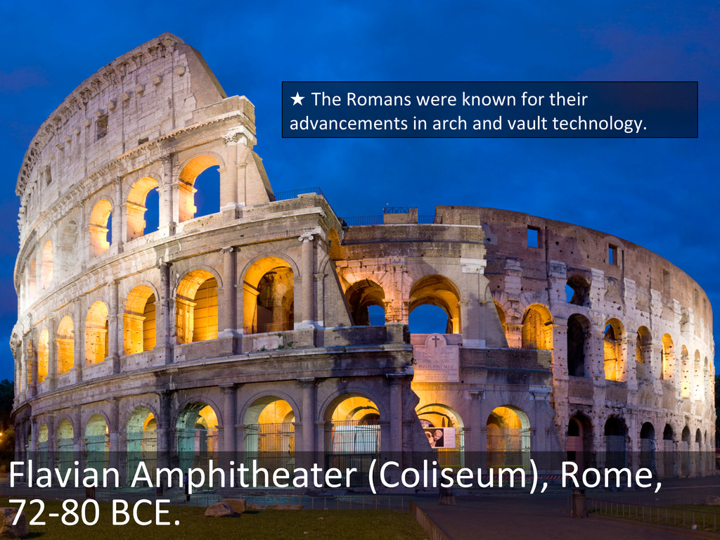 Flavian Amphitheater (Coliseum), Rome,...