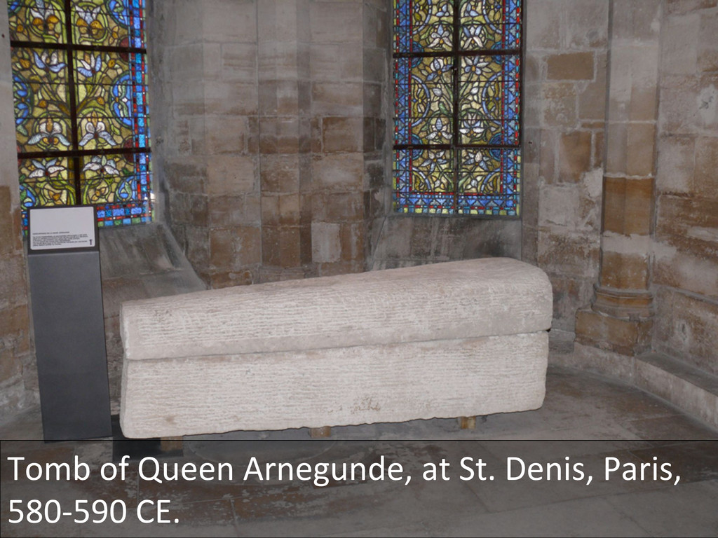 Tomb of Queen Arnegunde, at St....