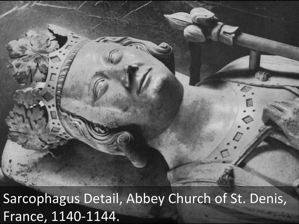Sarcophagus Detail, Abbey Church of...