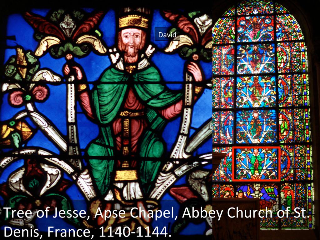 David  Tree of Jesse, Apse Chape...