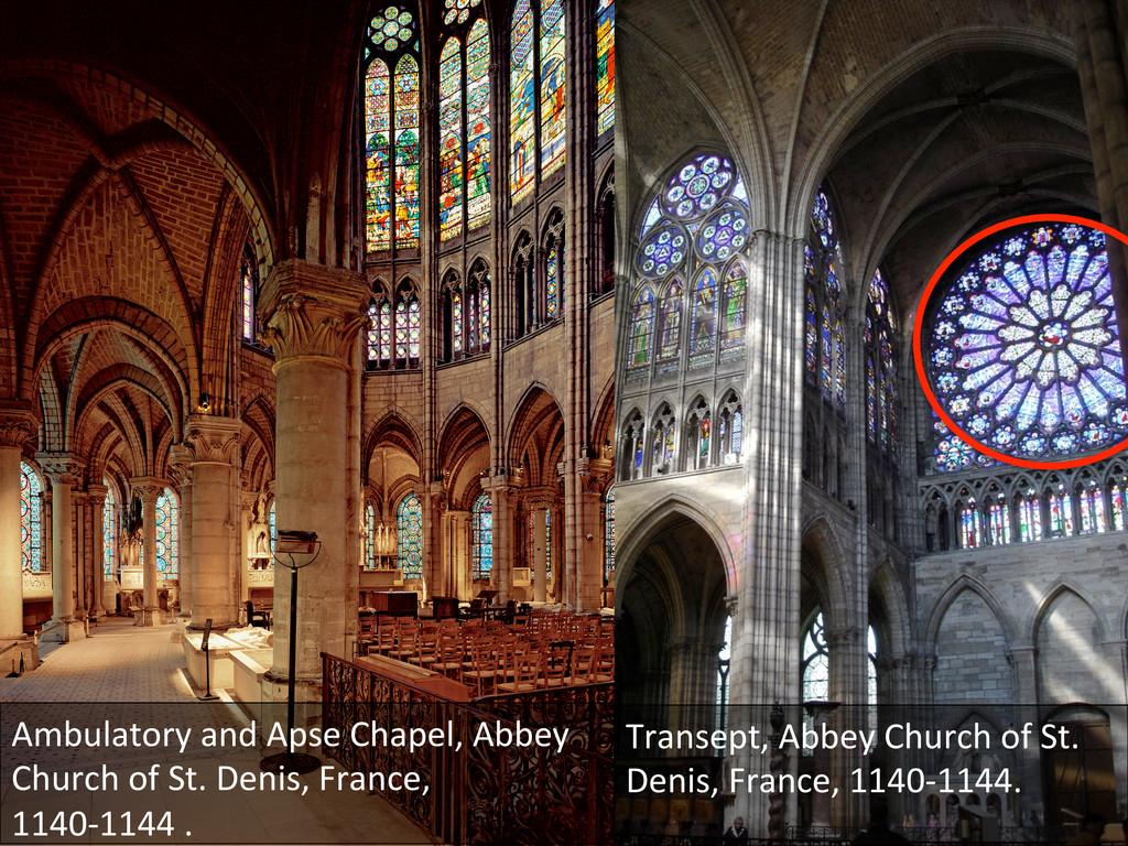 Ambulatory and Apse Chapel, Abbey...