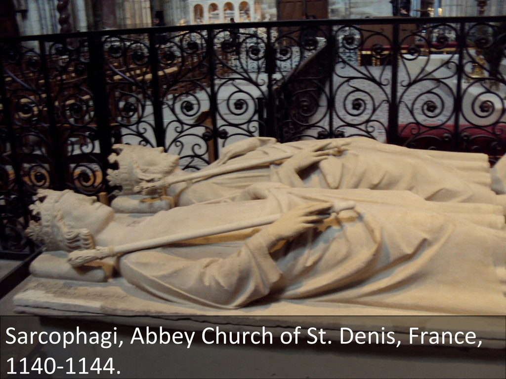 Sarcophagi, Abbey Church of St. ...