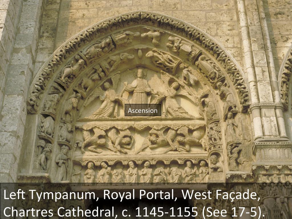 Leu Tympanum, Royal Portal, West ...