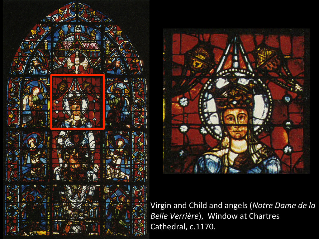 Virgin and Child and angels (Not...