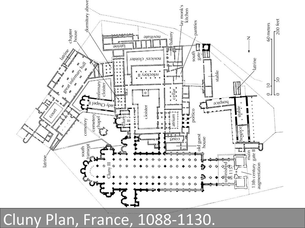 Cluny Plan  Cluny Plan, France, ...