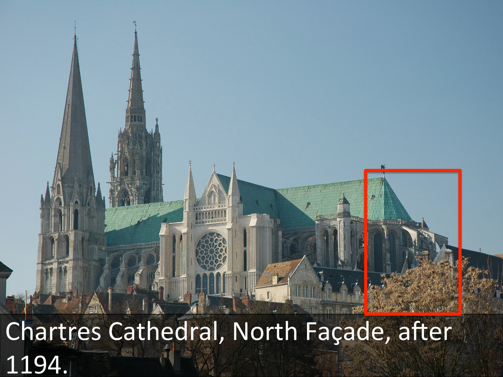 Chartres Cathedral, North Façade, a...