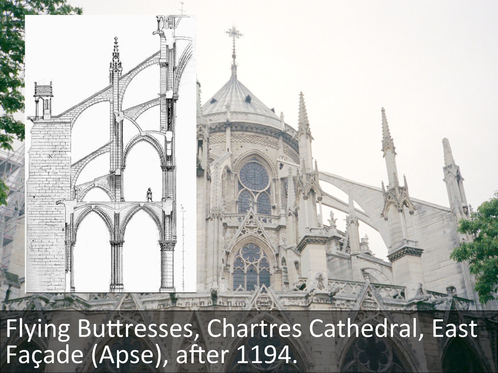 Flying BuKresses, Chartres Cathedral,...