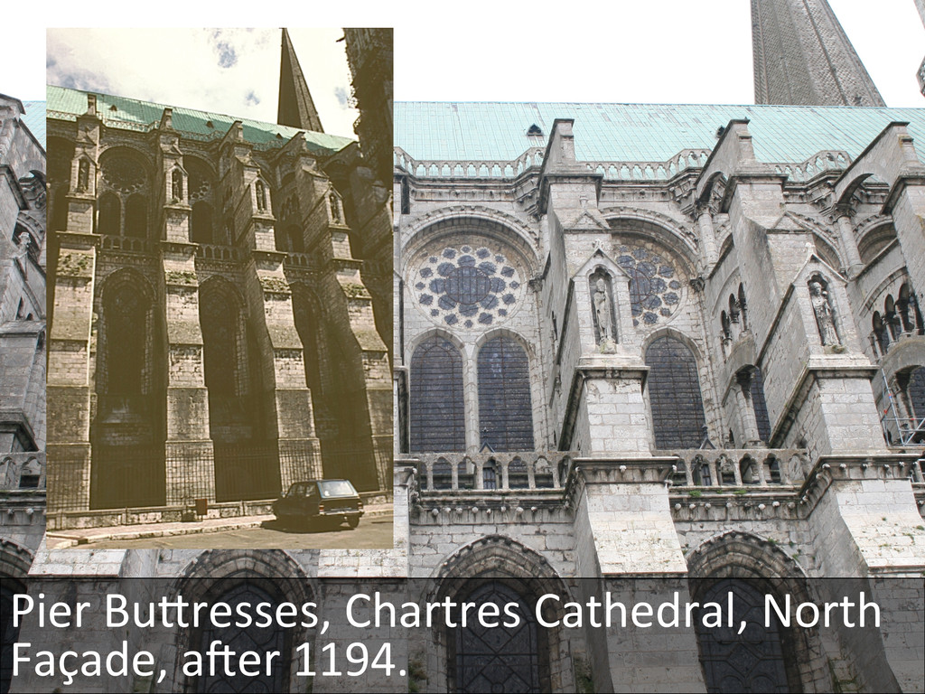 Pier BuKresses, Chartres Cathedral, ...