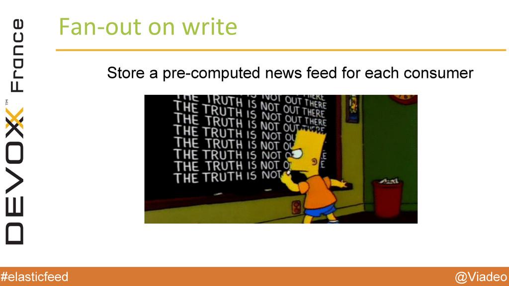 @Viadeo #elasticfeed Store a pre-computed news ...