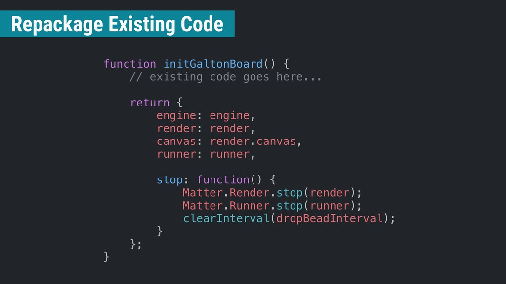 function initGaltonBoard() { // existing code g...