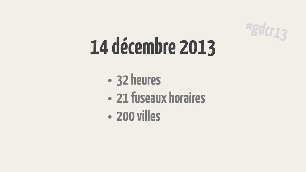 • 32 heures • 21 fuseaux horaires • 200 villes ...