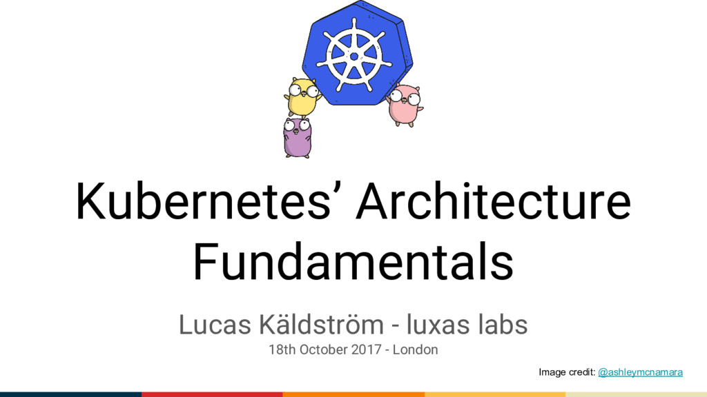 Kubernetes' Architecture Fundamentals Lucas Käl...