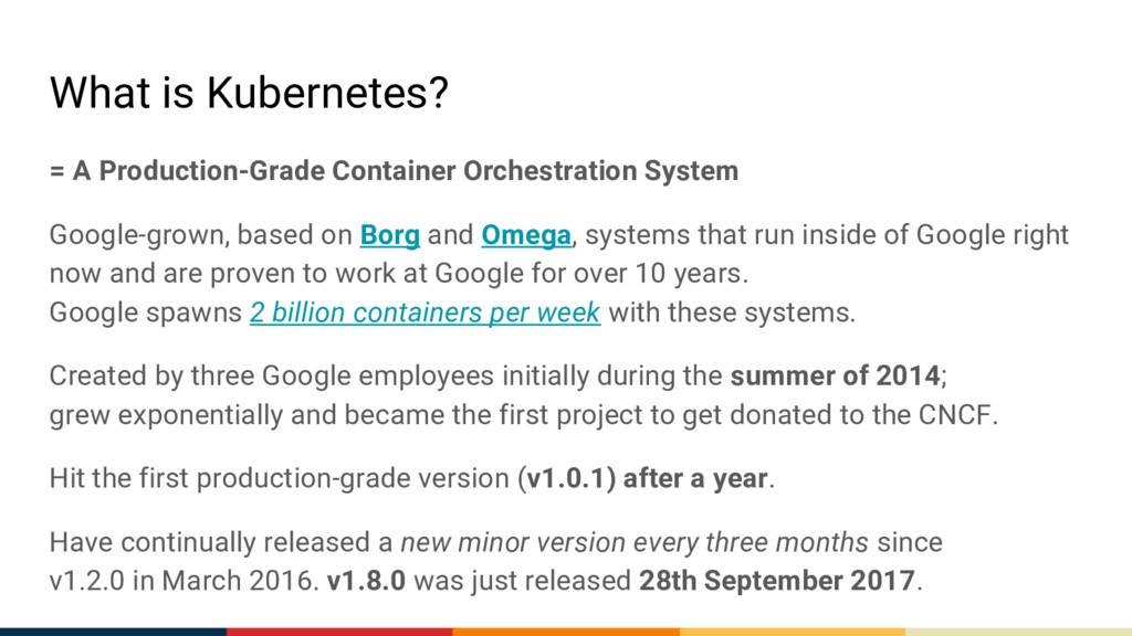 What is Kubernetes? = A Production-Grade Contai...