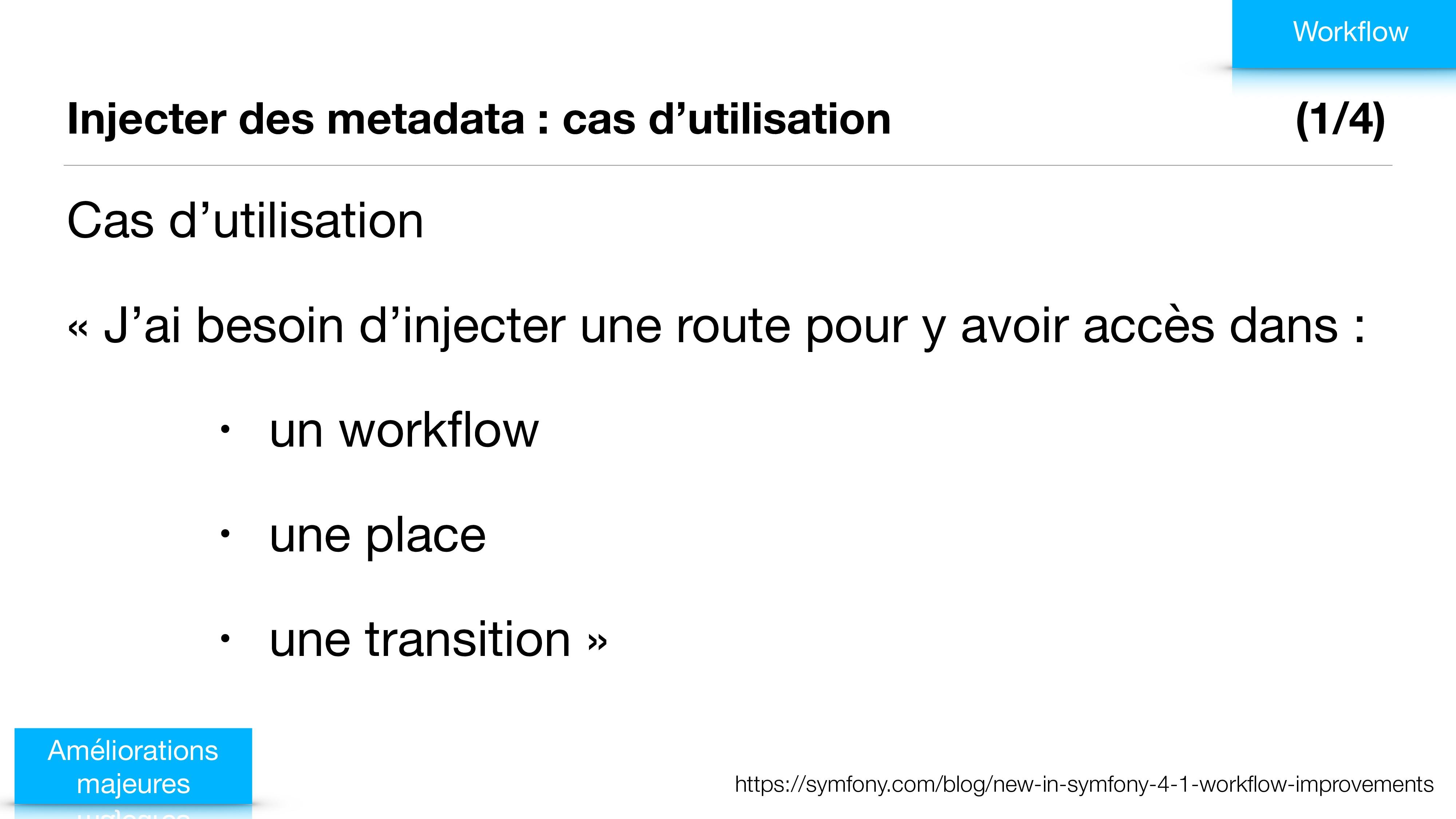 Injecter des metadata : cas d'utilisation (1/4)...