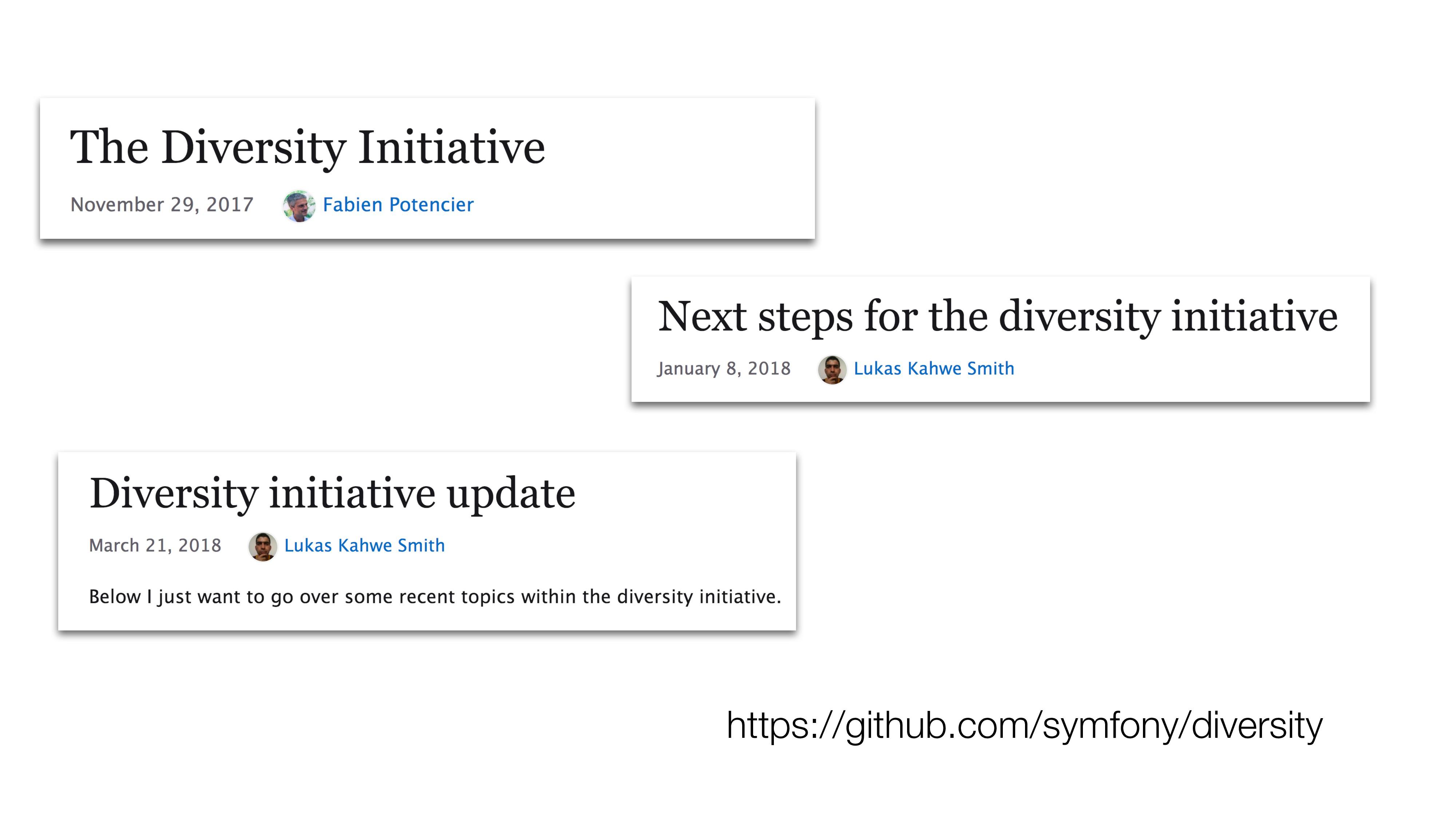 https://github.com/symfony/diversity