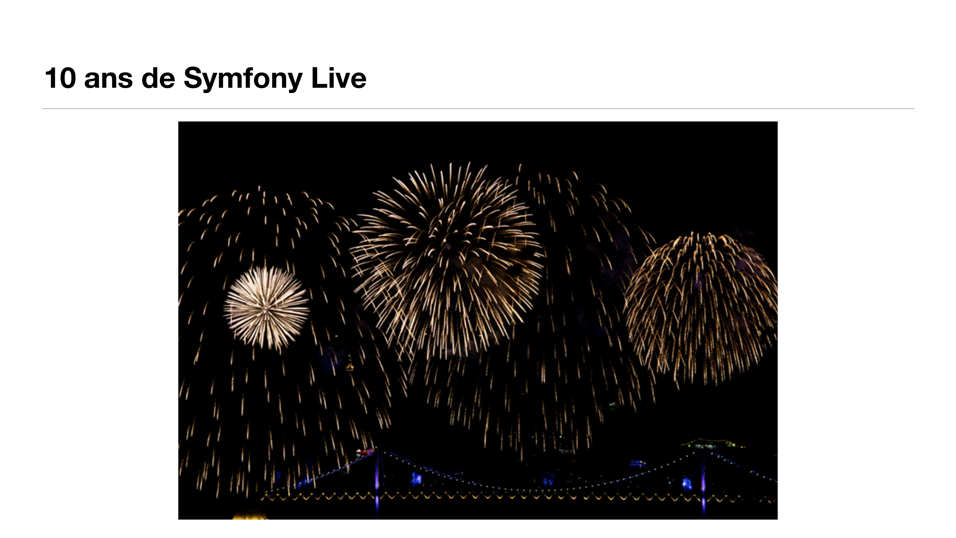 10 ans de Symfony Live