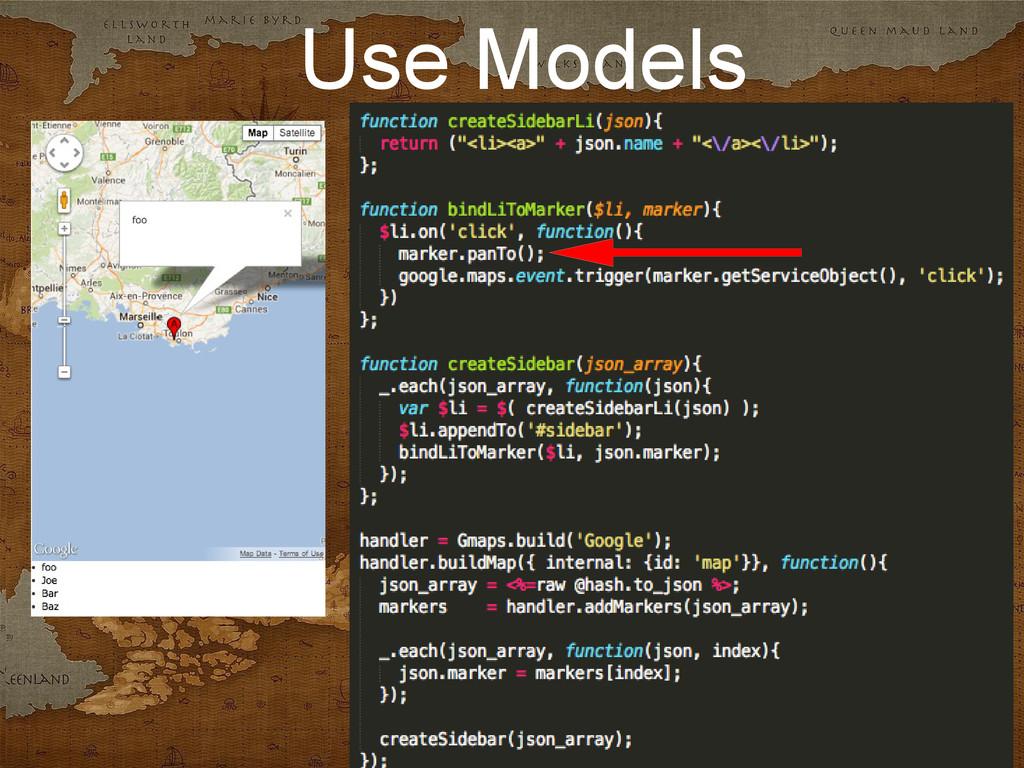 Use Models