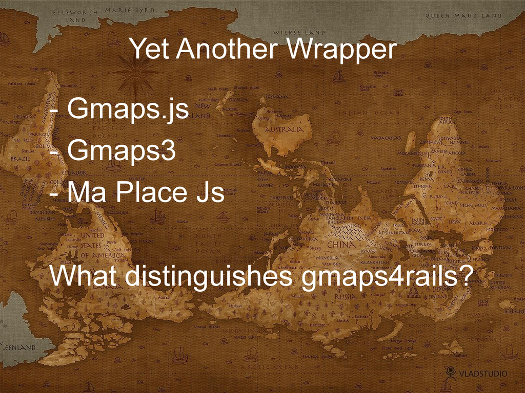 Yet Another Wrapper - Gmaps.js - Gmaps3 - Ma Pl...