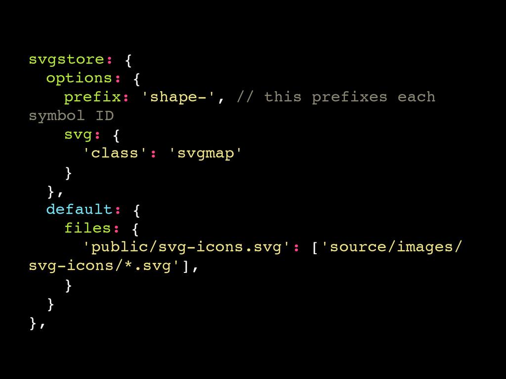 svgstore: { options: { prefix: 'shape-', // thi...