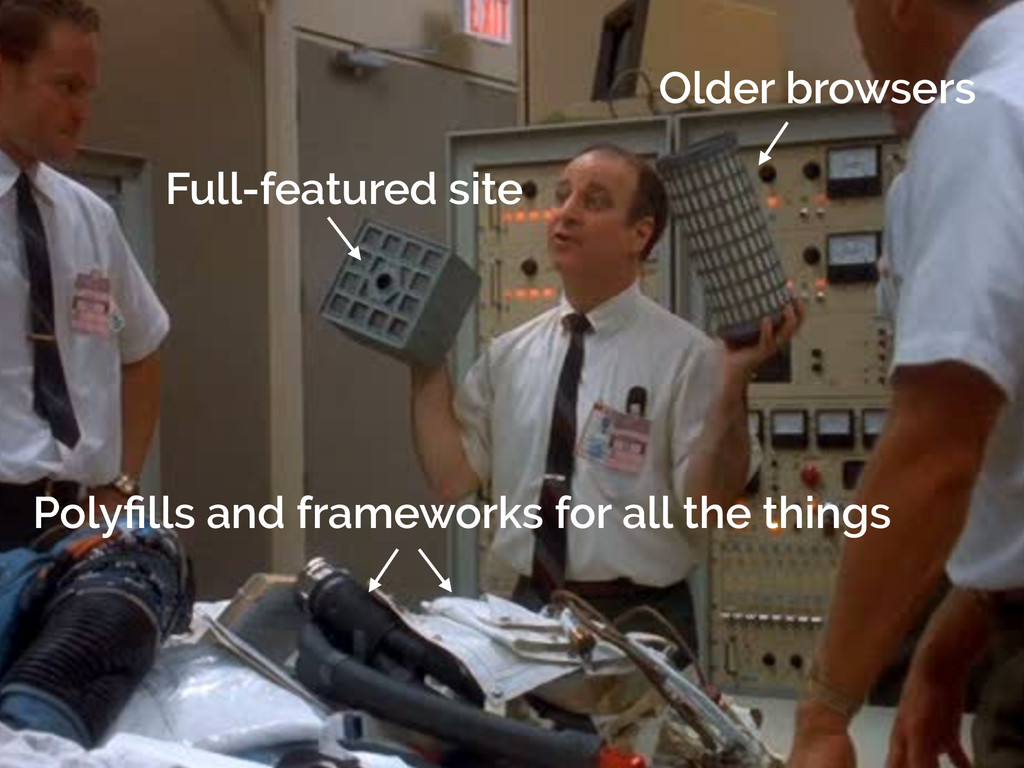 Older browsers Polyfills and frameworks for all ...